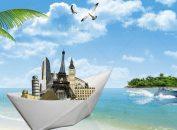 فایل لایه باز سفر به شهرهای ساحلی