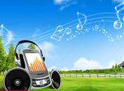دانلود فایل لایه باز موسیقی در طبیعت شامل المان های نت
