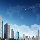 دانلود فایل PSD لایه باز نمای خارجی یک شهر با کیفیت بالا